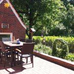 Sommer 4 Sterne Ferienhaus Dieknüst in Leer Ostfriesland Nordeutschland