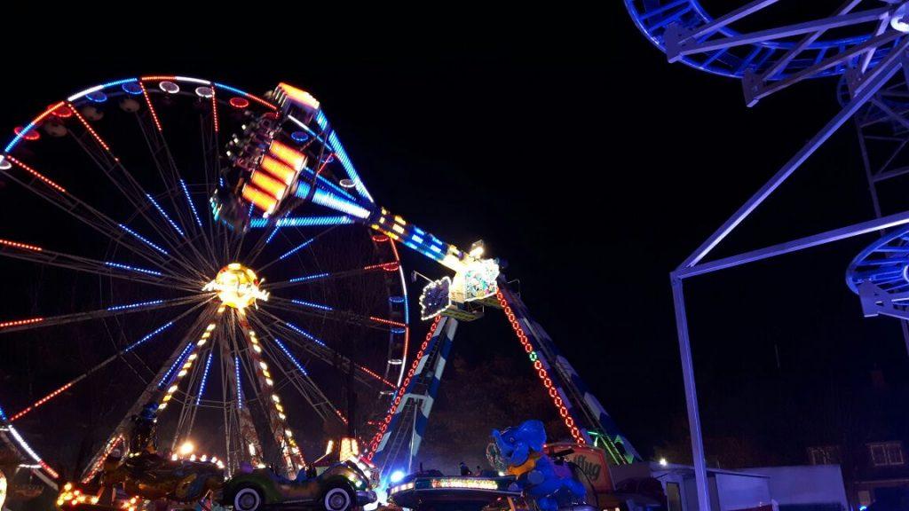 Lichterspiel Gallimarkt nachts
