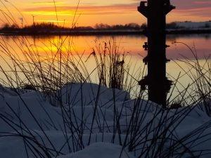 Winter - Idylle in Leer